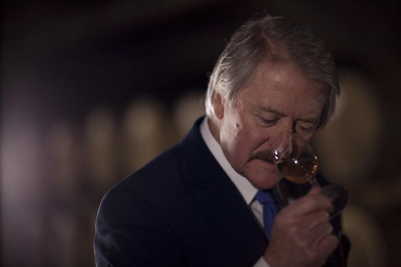 Richard Paterson Nosing the Dalmore