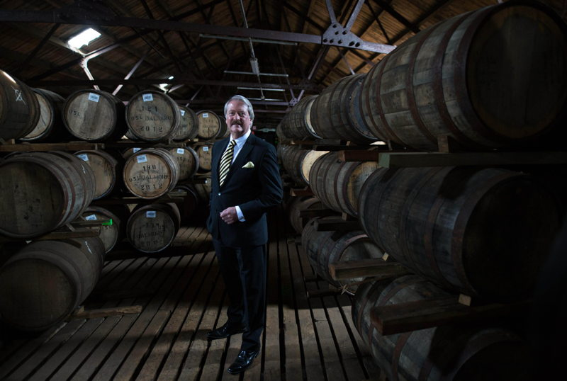 Richard Paterson in The Dalmore warehouse