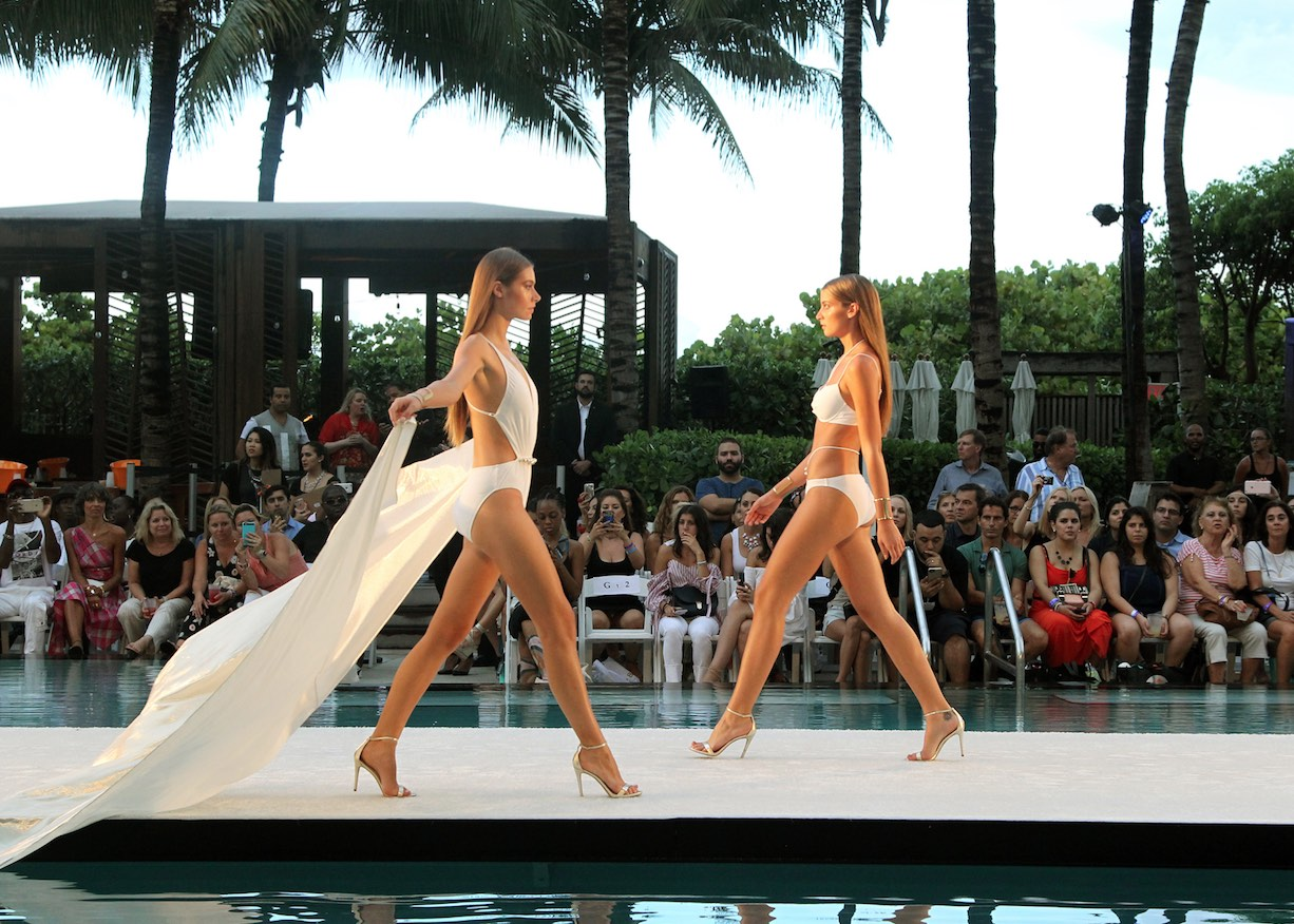 Gottex Runway show at W Hotel South Beach
