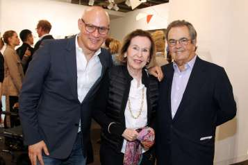 Craig Robins, Rosa de la Cruz and Carlos de la Cruz