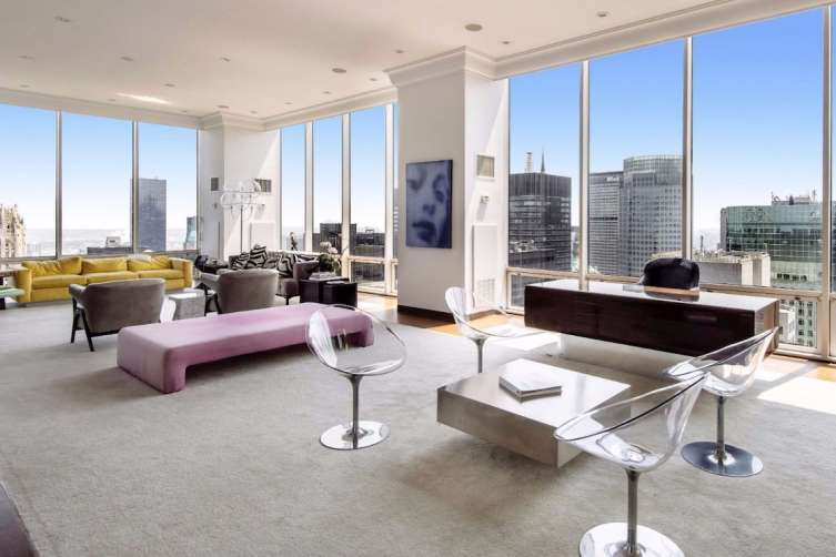 Maurizio Gucci's Olympic Tower penthouse in Midtown
