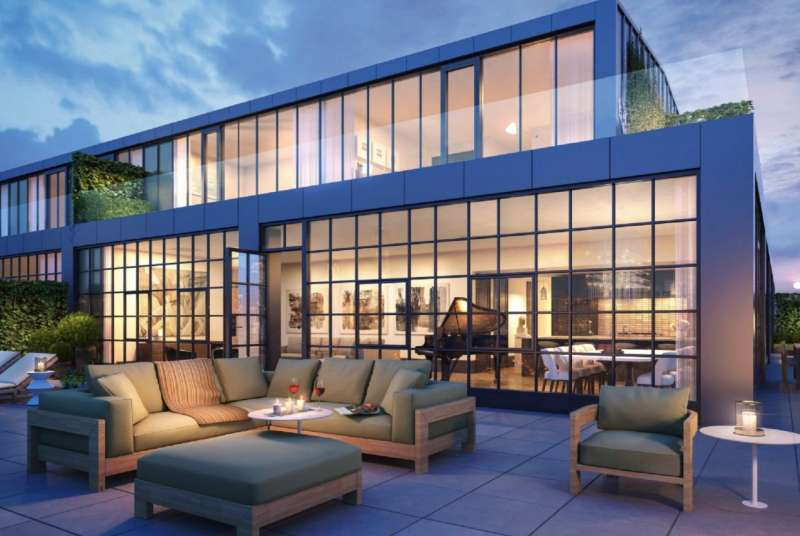 L.A. Clippers' 'J.J.' Redick bought this $4.25 million penthouse in a recently renovated Brooklyn warehouse.