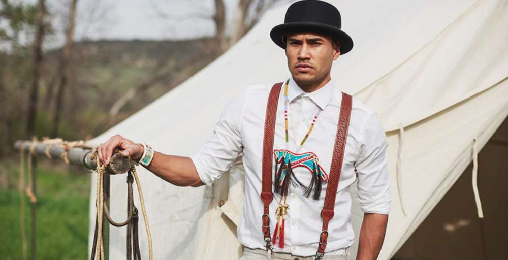 The Magnificent Seven Star Martin Sensmeier's Haute Secrets to LA