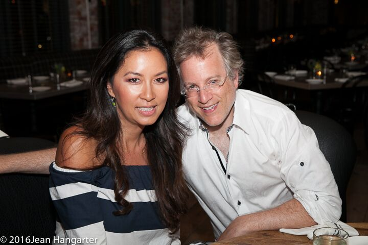 Bastille Kitchen 2nd Year Anniversary Celebration, Tonya Chen Mezrich and husband Ben Mezrich