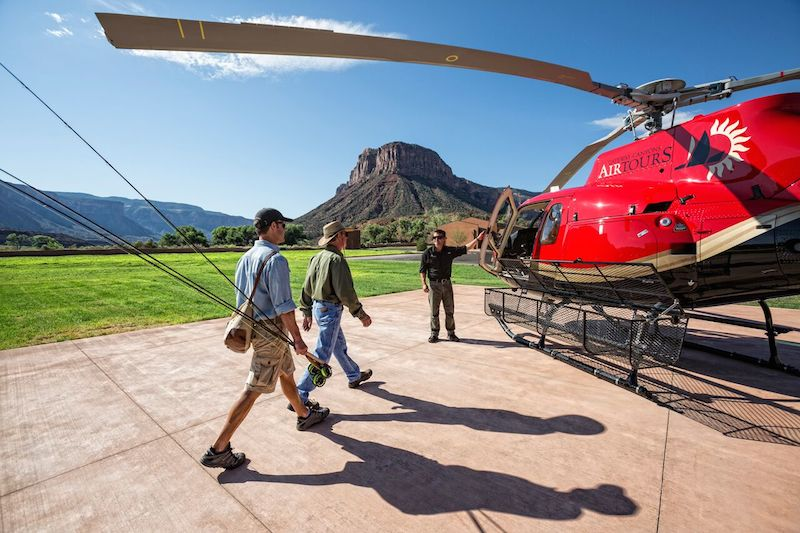 Take flight in a helicopter tour