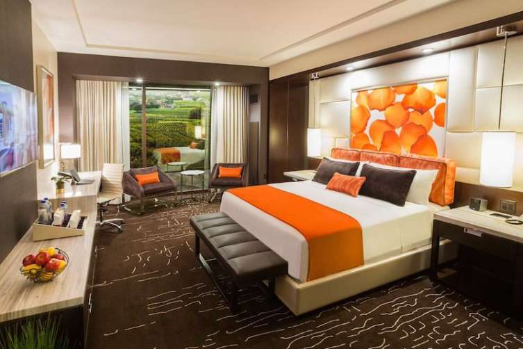A room at the Graton Resort and Casino