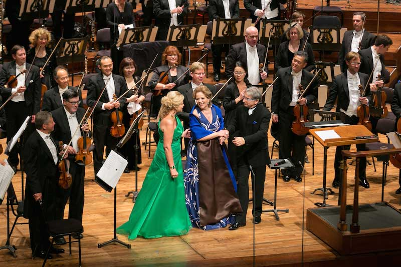 Susan Graham, Renée Fleming, Michael Tilson Thomas