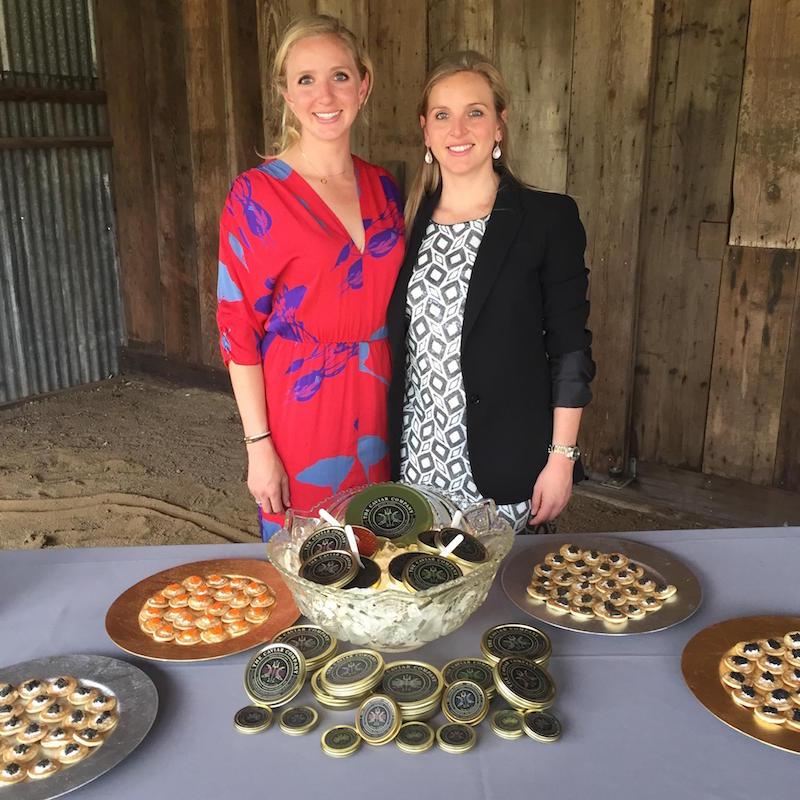 Founders of the Caviar Comapny, Petra and Saskia Bergstein
