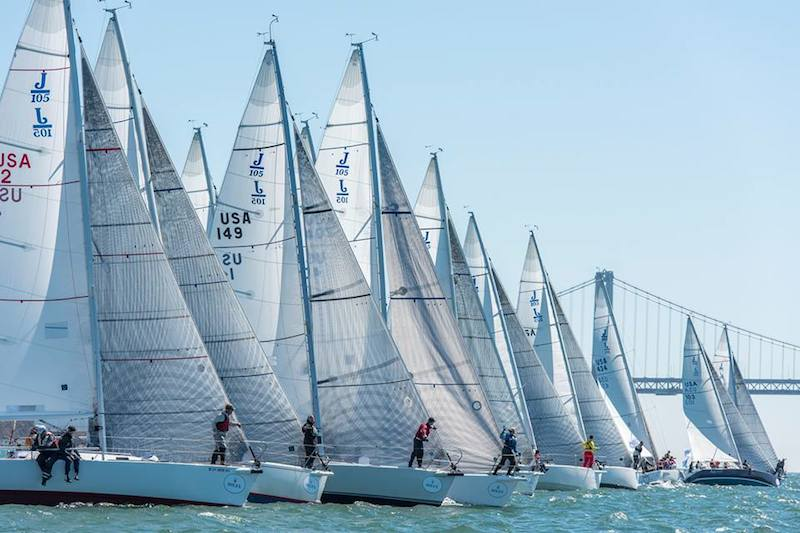 Ready to race at the 2015 Rolex Big Boat Series