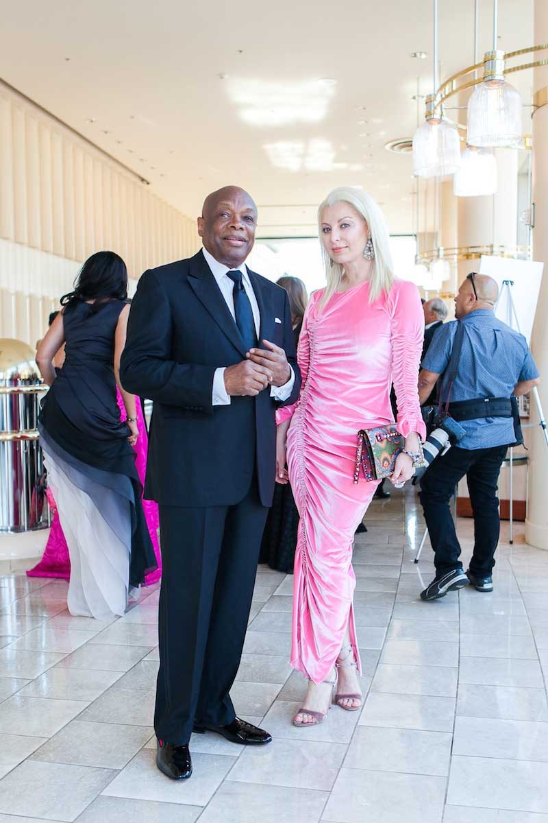 Willie Brown and Sonja Molodetskaya