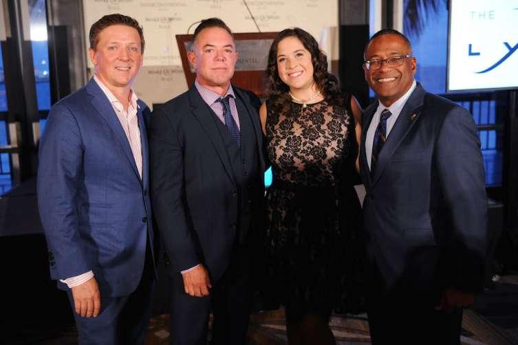 Robert Hill, Shareeg Malnik, Stephanie Diaz, & Norm Wedderburn