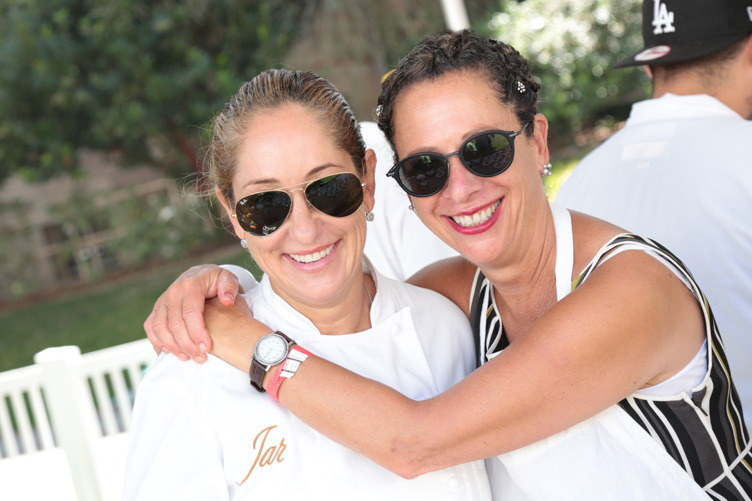 Suzanne Tracht and Nancy Silverton