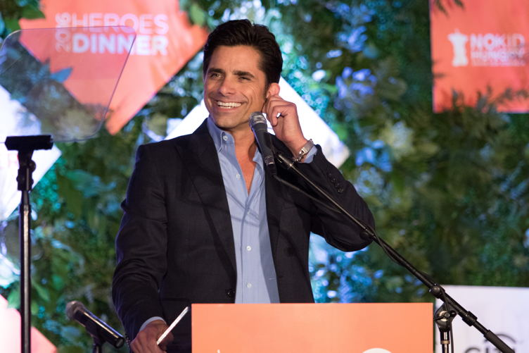 John Stamos speaks at the annual No Kid Hungry dinner
