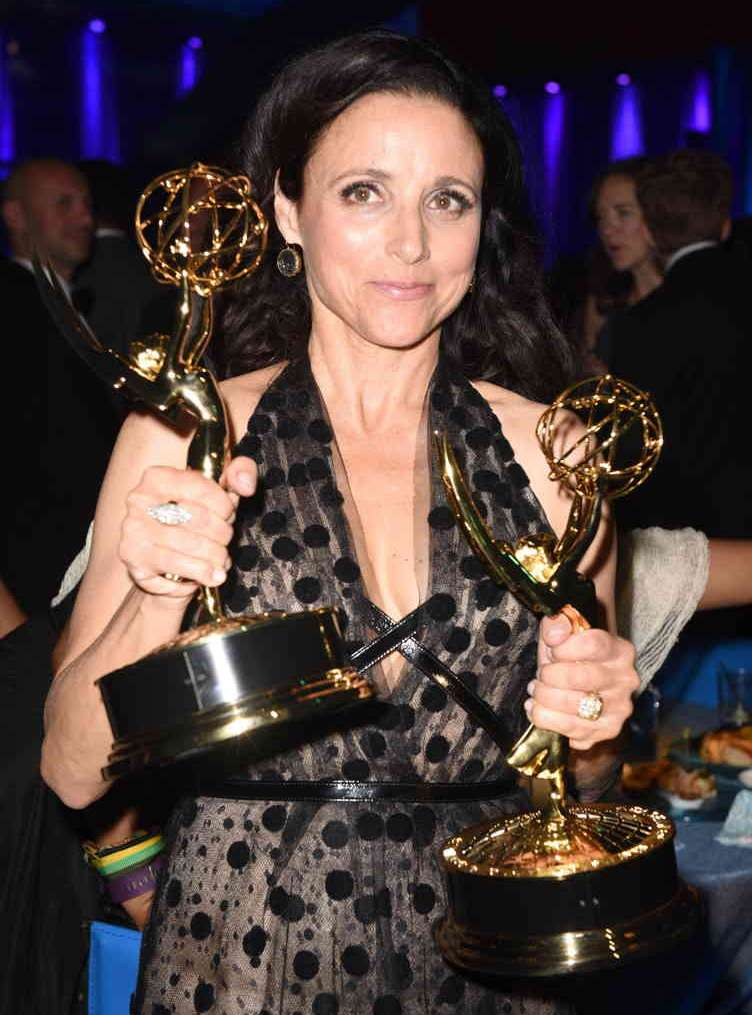 Julia Louis-Dreyfus attends HBO's Official 2016 Emmy After Party at The Plaza at the Pacific Design Center