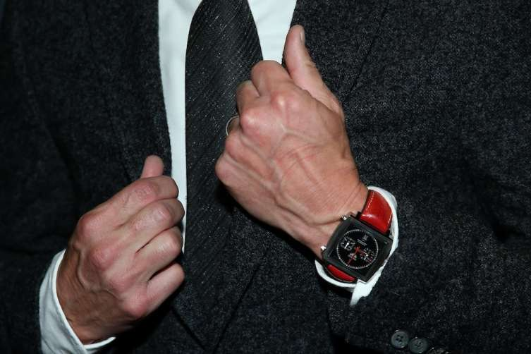 Patrick Dempsey with TAG watch