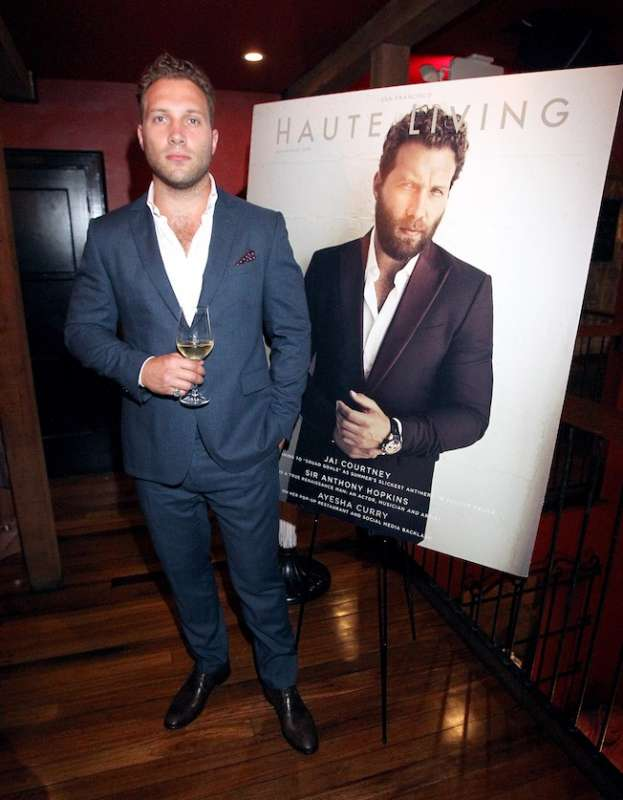 LOS ANGELES, CA - SEPTEMBER 21: Jai Courtney attends the Haute Living cover celebration dinner for Jai Courtney, presented by Tanquery at Republique on September 21, 2016 in Los Angeles, California. (Photo by Tommaso Boddi/Getty Images for Haute Living)