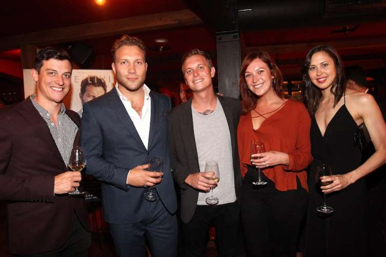 Jai Courtney and friends