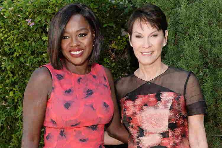 Viola Davis and Cheryl Saban attend The Rape Foundation's Annual Brunch