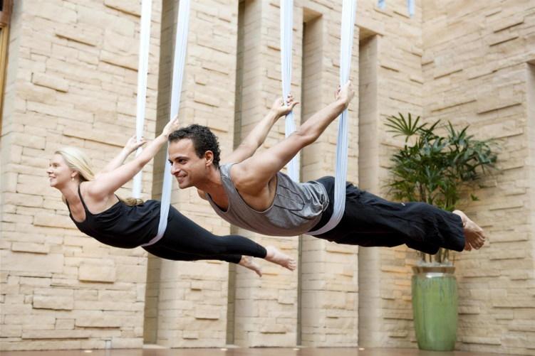 Aerial Hammock Yoga
