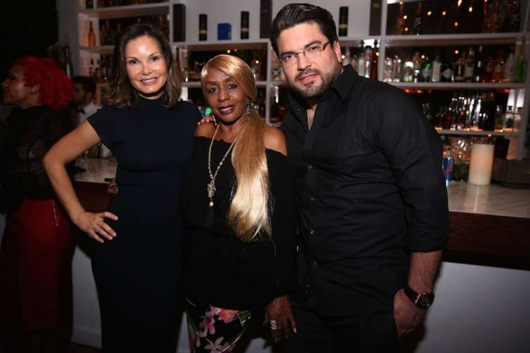Alicia Piazza,  Janice Combs, & Sergio Alvarez