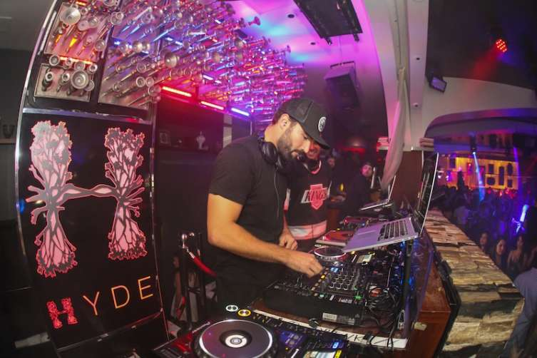 Brody Jenner at Hyde.