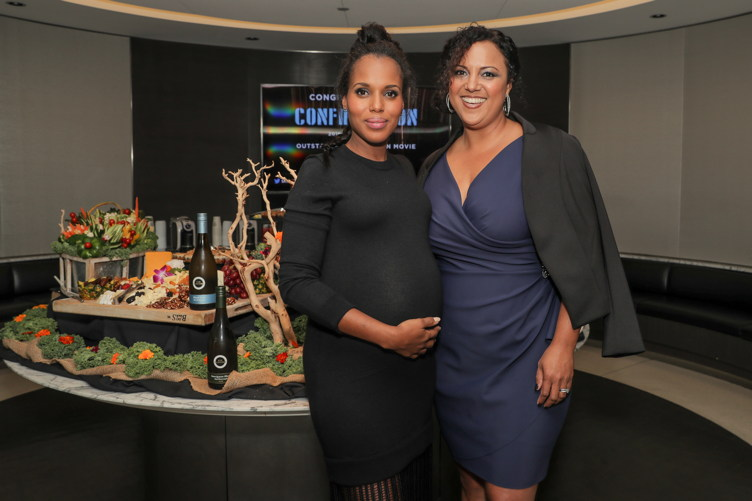 Kerry Washington and Sharla Sumpter Bridgett