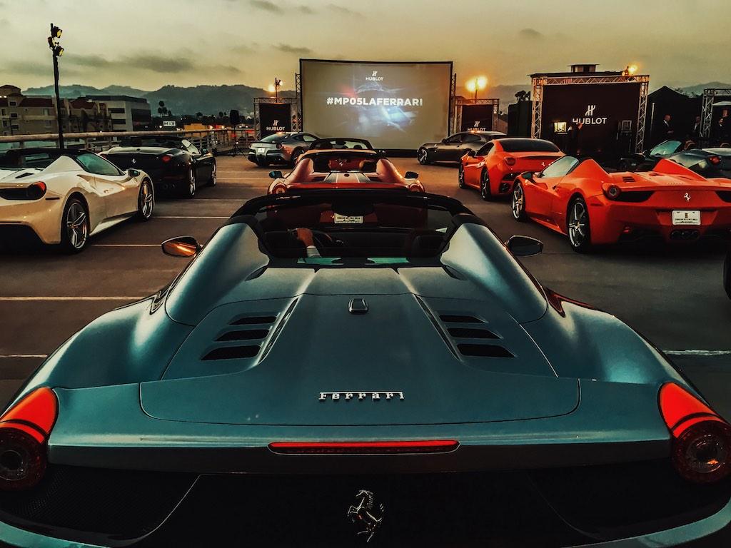 hublot movie premiere at Ace hotel