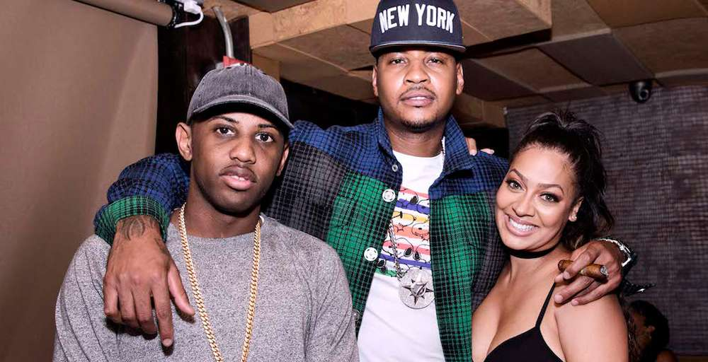 Haute Time Celebrates Three-Time Gold Medalist Carmelo Anthony at Catch NYC