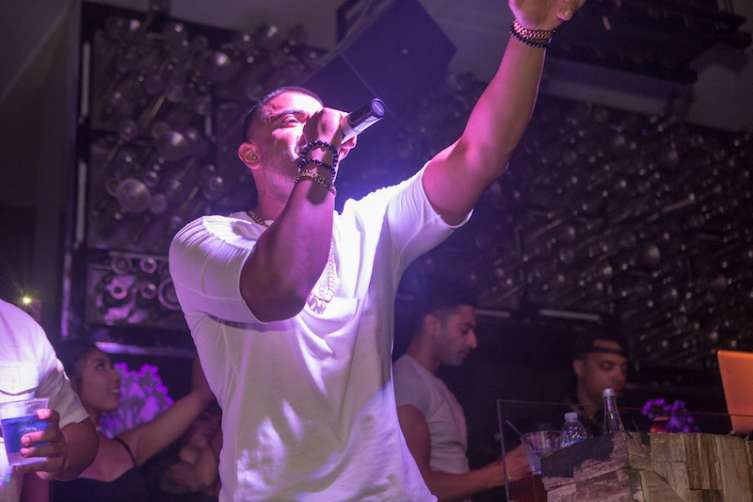 Jay Sean performs at Hyde.