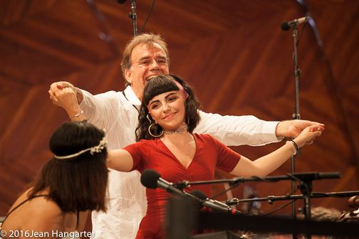 Music Director Christopher Wilkins and Angelina Botticelli