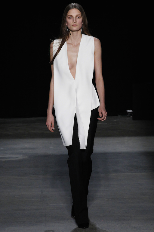 Narciso Rodriguez Fall Winter 2017
