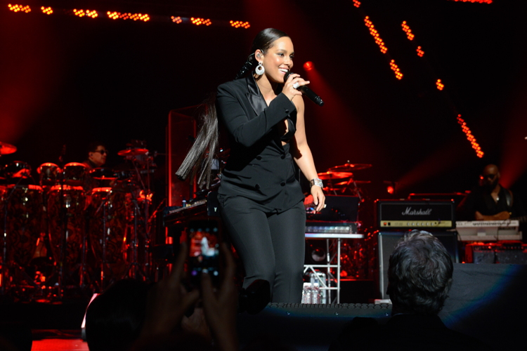 Alicia Keys performs at last year's gala.