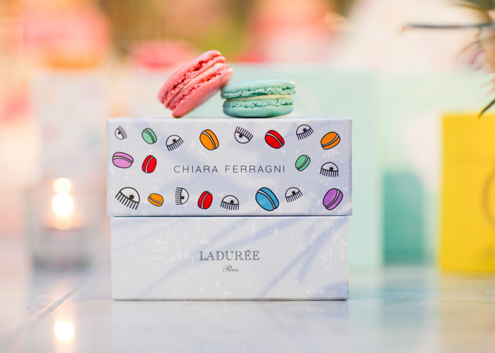 The new Chiara Ferragni box for La Duree
