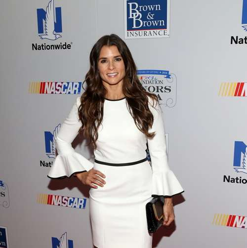 NASCAR driver Danica Patrick attends First Annual NASCAR Foundation Honors Gala. (Photo by Bennett Raglin/NASCAR via Getty Images)