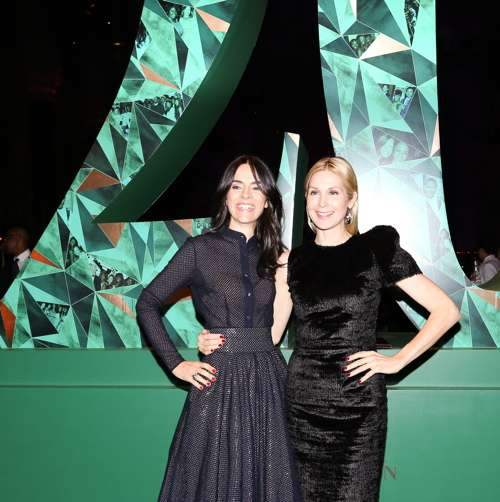 Florence Mars and Kelly Rutherford