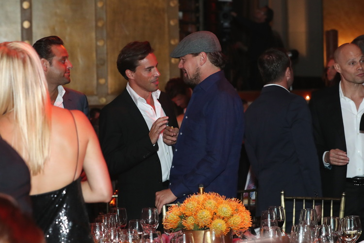 NEW YORK, NY - SEPTEMBER 13: Leonardo DiCaprio attends the UNITAS 2nd annual gala against human trafficking at Capitale on September 13, 2016 (Photo by Cindy Ord/Getty Images for UNITAS)