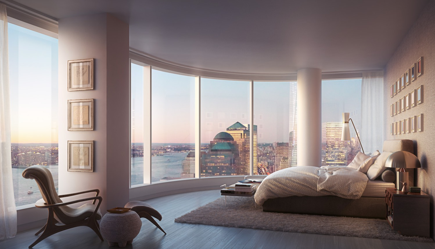 Wonderful Bedroom At 50 West Street