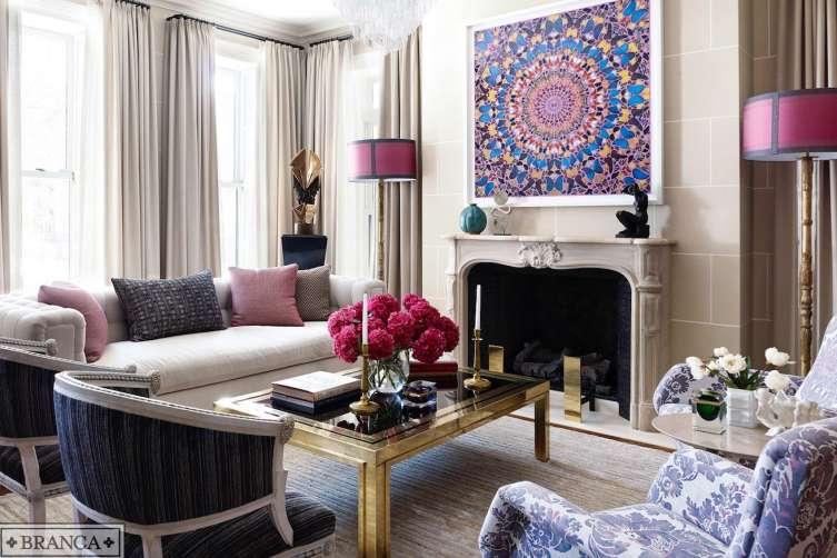 Alessandra Branca living room