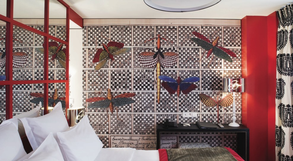 Christian Lacroix's whimsical Hotel Le Belechasse