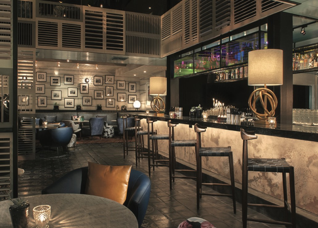 Beverly Hills' new hot spot, Doheny Room.