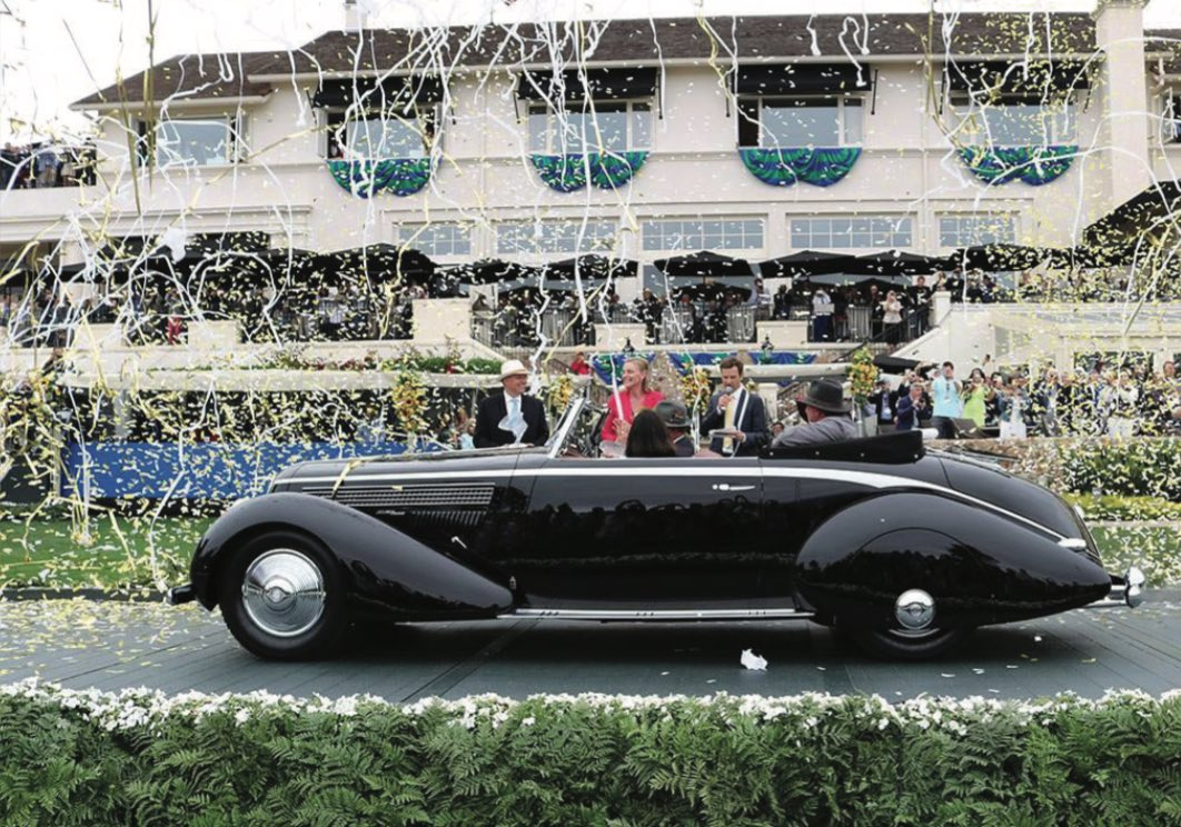 Best of Show: a 1936 Lancia Astura Pinin Farina Cabriolet