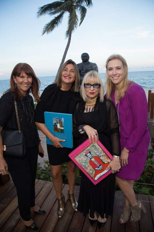 Sonia Figueroa, Susana Martinez Vidal, Elysze Held at Auberge Beach Residences & Spa Fort Lauderdale for an engaging conversation on Frida Kahlo and her timeless sense of style.