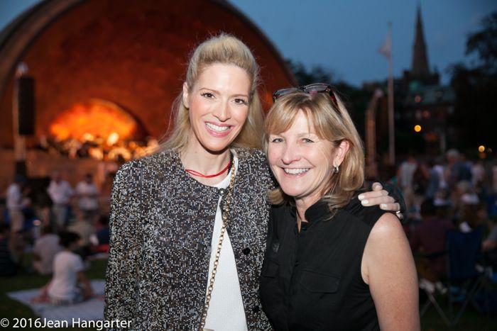 Sonia Tita Puopolo and Laura Connors, Boston Landmarks Orchestra