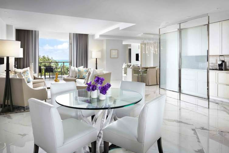 Suite at the St Regis Bal Harbour