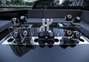 Hublot Timepieces on VanDutch Big Bang Yacht