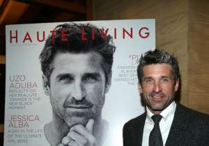 Patrick Dempsey attends his Haute Living Cover Launch