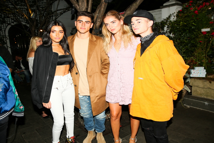 Madison Beer, Chiara Ferragni, Jack & Jack