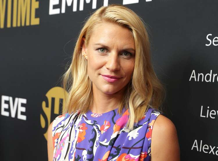 Claire Danes attends the Showtime pre-Emmy party