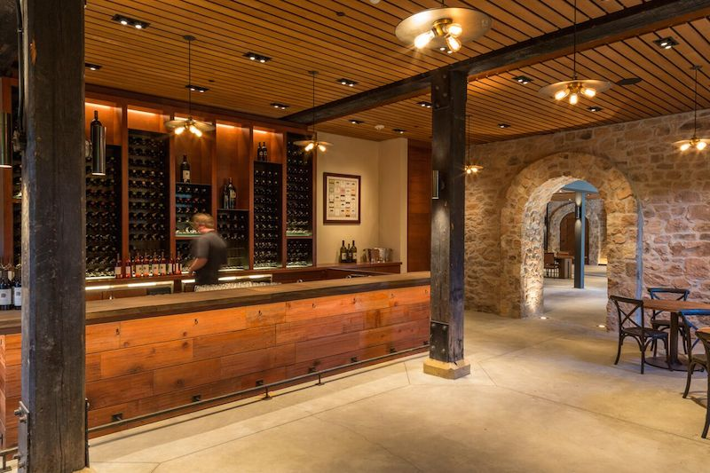 Another look at the library tasting room