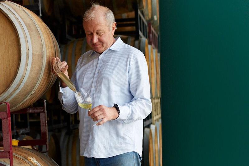 True Myth's winemaker Christian Roguenant